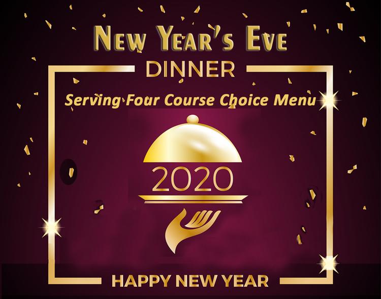 2019 New Year's Eve Menu